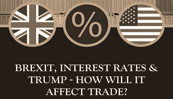 Brexit, Interest Rates And Trump – How Does It Affect Trade?