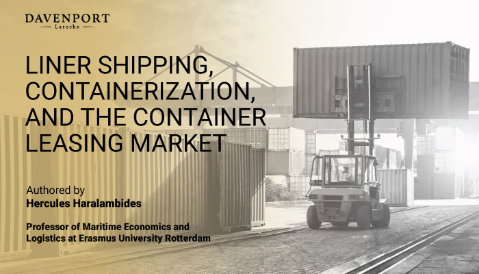 Liner Shipping And The Container Leasing Market