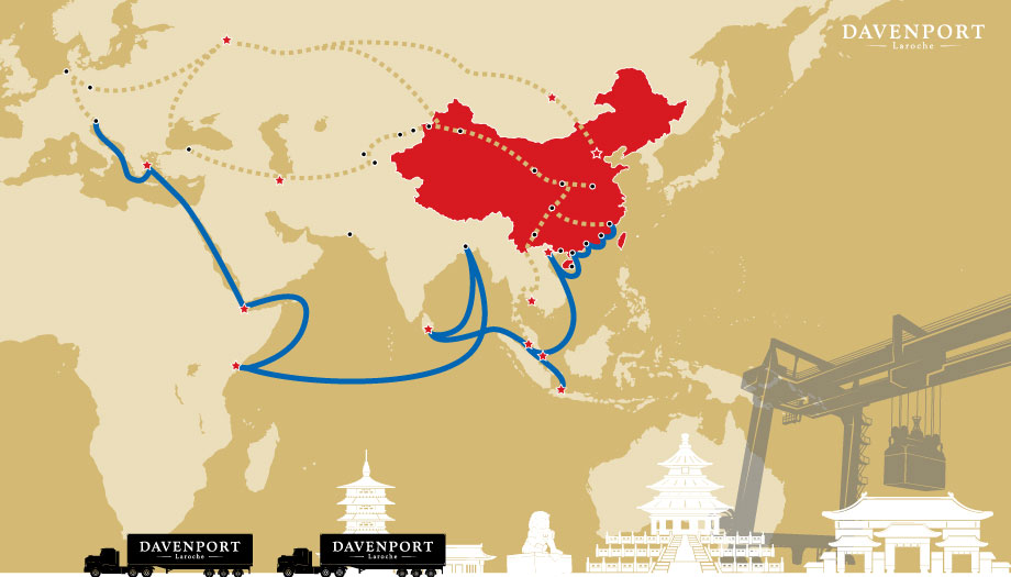 China Powers The Way For A New Silk Road
